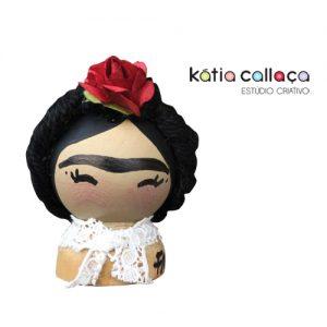 Peg Doll Frida Pequena